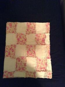 Baby girl crib size quilt