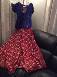indian pakistani  lahanga/dress for teens/girl best for eid