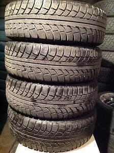 4 pneus d'hiver 195/65 r15 gislaved nord frost 5.   120$
