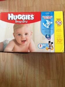 Huggies couches/diapers