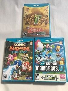 WiiU games for sale or trade for other wii games