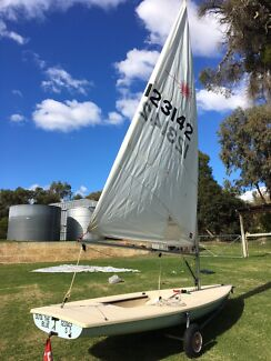 Laser sail boat for sale