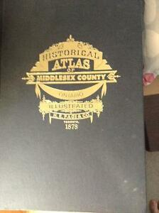Middlesex County Illustrated Historical Atlas 1878 London Ontario image 1