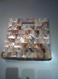Genuine Mother of Pearl Hand Bag.