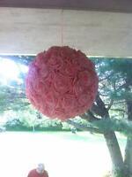 2x1.5 foot diameter balls of roses $35 for both