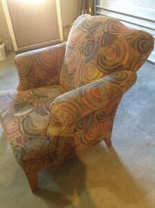 Multi-Coloured chair Stratford Kitchener Area image 3