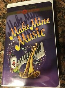 Make Mine Music VHS