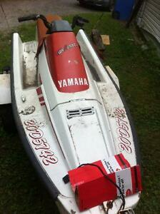 yamaha waverunner 86 with trailer ..needs battery n g2g