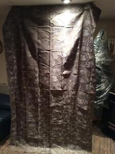 3 curtain panels
