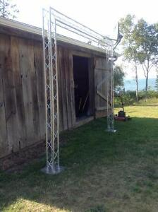 Aluminum Truss - Perfect for tradeshows, craft shows or stage!!!