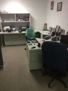 OFFICE FURNITURE FOR SALE. BUSINESS CLOSING!!