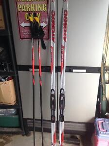 Men's Atomic Skate Skis, Boots, and Poles