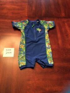 Boy's Size 24 mos swimming outfit