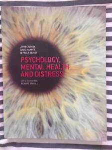 Psychology, Mental Health and Distress Floreat Cambridge Area Preview