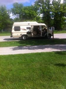 WANTED: parts for 1986 dodge b250 camper van leisure travel