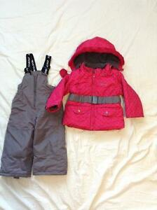 Gusti snowsuit for girls size 2t