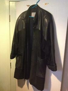 leather and suede jacket for women, in a good condition