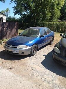 2003 Chevrolet Cavalier Sedan $800 o.b.o. as is
