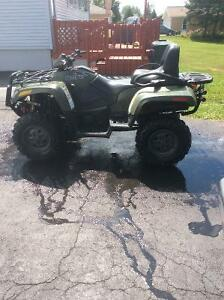 Mint condition 2010 Arctic Cat 550 2-UP
