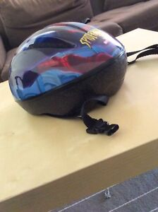 Spider man helmet for cycling