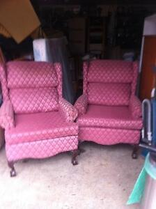 """""""Matching 2 Big Chairs and real comfortable"""""""