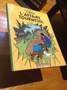 Tintin L'affaire Tournesol 1966