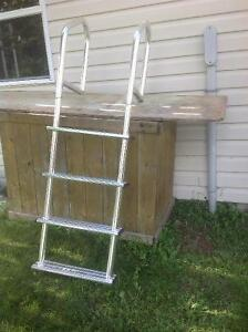 4 - Step Dock Ladder. (New, never used)