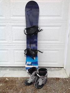 Rossignol Sonar 148 with boots and bindings