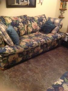 Sofa and Chair. 300.00 firm
