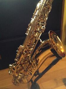 Beautiful tenor saxophone