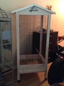Large bird cage 5ftH x 2ftW x 2ftL