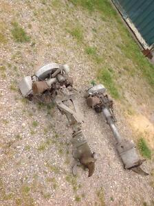 2 antique outboards