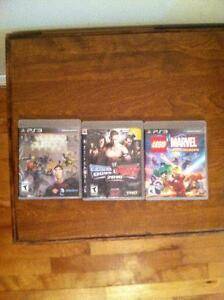 PS3 Games for sale $10.00 each