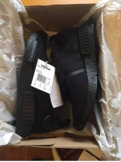 Adidas NMD R1 PK Japan Triple Black US9.5/UK9 - free shipping!