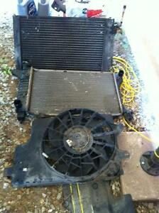 Rad cooler and cooling fan for 94 mustang