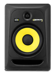 Rokit Powered Generation 3 Studio Monitor - 8 inch With Stands