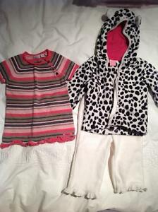 Two cute fall outfits, size 9-12 mos