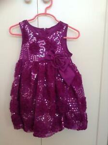 Beautiful sequins party dress size 24 months