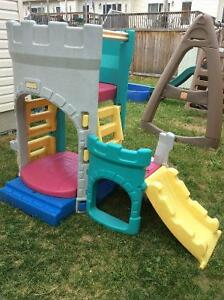 Castle playstructure