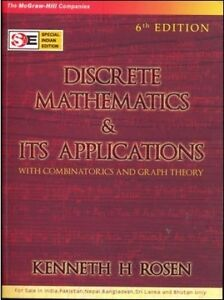 Discrete Mathematics & its Applications by Kenneth H. Rosen