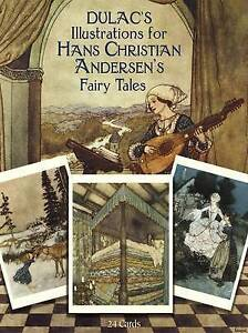 Dulac's Illustrations for Hans Christian Andersen's Fairy Tales: 24 Cards (Dover