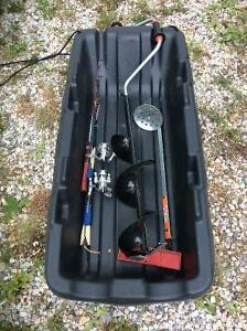 Ice fishing package