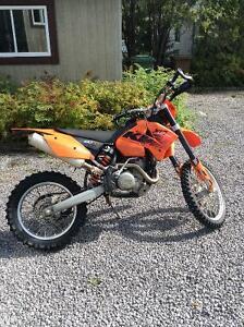 Moto cross ktm 450 xc