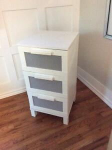 Sold PPU: IKEA nightstand - white