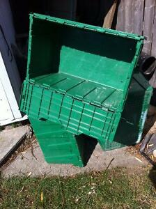 Storage boxes with hinged lids Windsor Region Ontario image 4