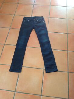 Gstar Raw Jeans size 28 ink blue stretch denim
