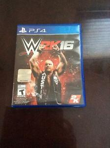 WWE 2k16 - PS4 - Clean Disc Never Used