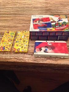 Nintendo 3ds ,2plate covers and Mario 3dland