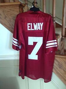 John Elway, Stanford, Medium, Nike College Authentic Jersey NFL