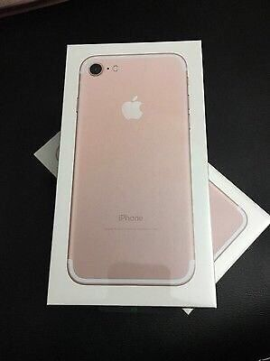 Apple Iphone 7 gold 128gb sealed EE network